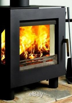 Hi Temperature Ceramic Wood Stove Glass Replacement Pyroceram 18 1/2 x 9 13/16