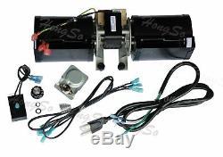 Hongso GFK-160 GFK-160A GFK160 Replacement Fireplace Blower KIT, for Heat N Glow