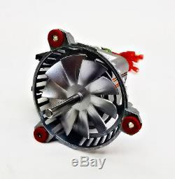 King 5500M, 5500XLT, 5502M, 5510 Exhaust Fan Motor 80473 + 4 3/4 PH-UNIVCOMBKIT