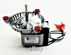 Kozi Combustion Exhaust Motor Fan Kit + 5 Replaces FAN12003, PH-UNIVCOMBKIT