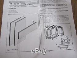 Lennox Bella Pellet Stove Soapstone Kit Back L/S & R/S Model H3491