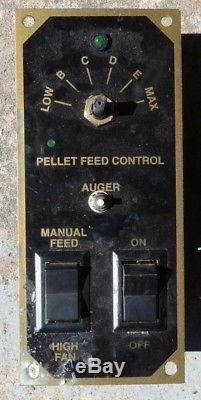 MAIL-IN REPAIR SERVICE Older Breckwell P20, P23 or P24 Pellet Stove Controller