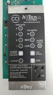 MAIL-IN REPAIR SERVICE Part # CD0048-V AcuTron Pellet Stove Controller