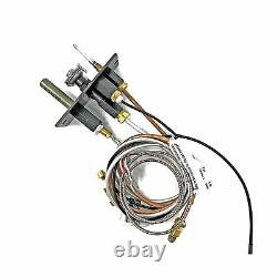 Majestic Athletic 1111 Pilot Assembly NG Replacement Part by Fireplaces Black