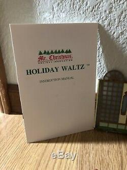 Mr Christmas Holiday Waltz Fireplace Walls People Replacement Parts Lot Complete