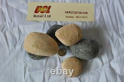 NEW Replacement Gas Fire Pebbles (20) OEM Part