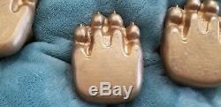 Original 1973 Fisher Mama Wood Stove Bear Claw Feet