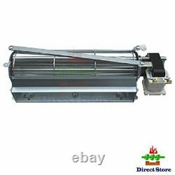 Parts Kit DN116 GFK4, FK12, FK24 Replacement Fireplace Blower Fan with 3