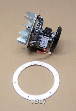 Pellet Stove Exhaust Blower Motor and Gasket for Quadrafire 812-4400