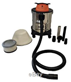 Pellethead Ash Vacuum Pro New 2020 Design for Fireplaces, Pellet Stoves, Grills