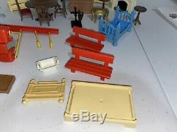 PlayMobil Victorian Mansion Parts Furniture Replacement Piano Fire Place Table