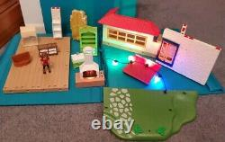 Playmobil Furniture, Grill Fireplace & Replacement Parts Lot of 13