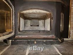 Quadra-Fire 3100i Wood Burning Stove Fireplace Insert