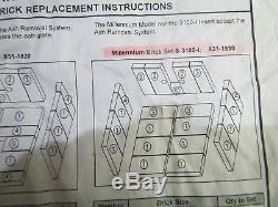 Quadra-Fire Millenium Brick Set