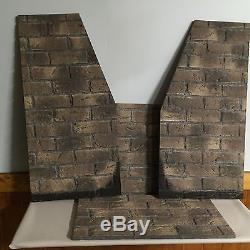 Regency L-900 NG1 Fireplace Direct-Vent Rustic Brown Brick Panels Set # 547-901
