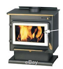 Replacement glass for Englander Stoves Part# AC-G17