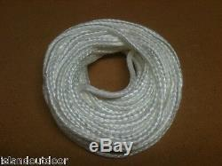Silica Rope Gasket Cotronics Braided fire rope stove wick boiler furnace 1000 C