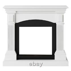 Tagu Magna Fireplace Mantel Top Only Pure White Replacement Part Only