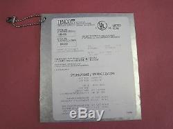 Temco Model GFD200-1N Refractory Set 74353, 74354, 74355