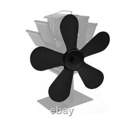 Tool Fan blade Parts 5Blades Aluminum Alloy Blade Fireplace Replacement