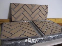 Travis 31 DVI Refractory Panel Set (2) Side Brick Or Herringbone Model 96100100
