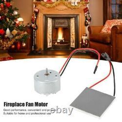 UK-Wood Log Heater Fireplace Motor Stove Burner Power Fan Heater Replace Parts