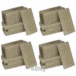 US Stove FireBrick 4.5 x 9 x 1.25 Inch Wood Stove Ceramic Fire Bricks (24 Brick)