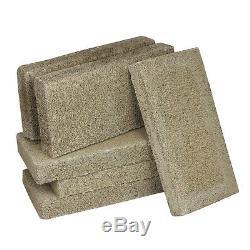 US Stove FireBrick 4.5 x 9 x 1.25 Inch Wood Stove Ceramic Fire Bricks (36 Brick)