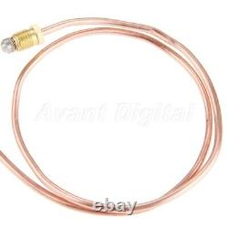 Universal Gas Thermocouple 600mm M8 Nuts Replacement Parts For Fireplaces Heater