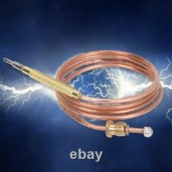 Universal Gas Thermocouple Kit 900mm Fire Pit Fireplace Heater Replacement Parts