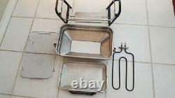 VINTAGE Farberware Open Hearth Electric Broiler Rotisserie Replacements Parts