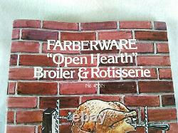 VTG Farberware Open Hearth Rotisserie Replacement Parts Spit Supports 455n