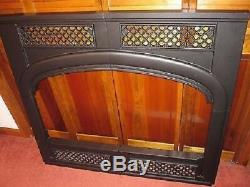Vermont Casting Cast Iron Trim Surround Wood Stove Fireplace Insert EWF36ACFTK