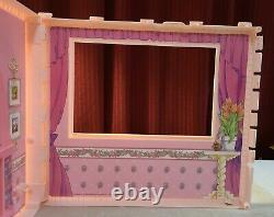 Vintage 1992 Barbie Fold N Fun House FIREPLACE WALL PANEL REPLACEMENT PART