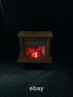 Vintage Sylvanian Families Fireplace- Working- Replacement Part- Sitting Room