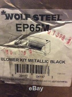 Wolf Steel Blower Kit With Variable Speed And Thermostatic Control EP65M