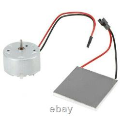 Wood Log Heated Fireplace Motor FOR Stove Burner Power Fan-Heater Replace Parts