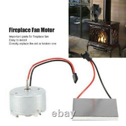 Wood Log Heater Fireplace Motor FOR Stove Burner Power Fan Heater Replace Parts